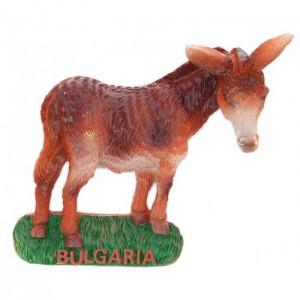 Сувенирна магнитна фигурка във формата на магаре - България