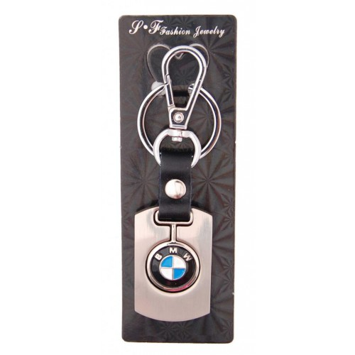 Автомобилен ключодържател с метална пластина - BMW