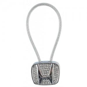 Автомобилен метален ключодържател - емблема на кола - Honda