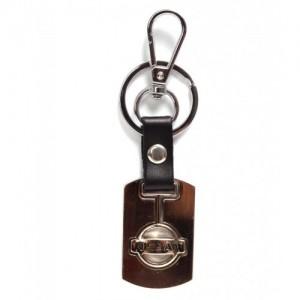 Автомобилен ключодържател с метална пластина - Nissan