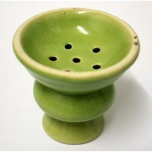 Чашка за наргиле - зелена