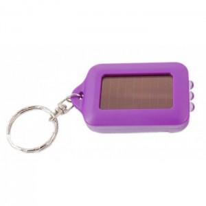 Ключодържател - мини фенер с 3 диода и соларен панел