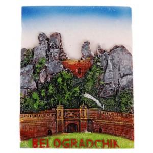 Декоративна релефна фигурка с магнит - Белоградчишките скали