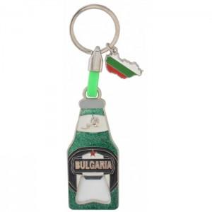 Сувенирен ключодържател - отварачка във формата на бирена бутилка