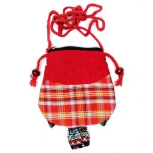 Малка дамска чантичка във формата на бухал