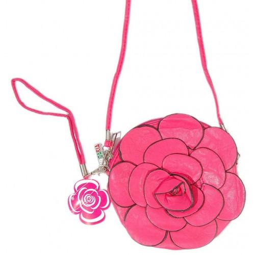 Красива дамска чантичка във формата на Роза