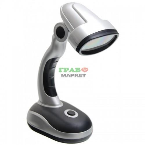 Комплект диодна лампа за бюро с подвижна глава -  12 диода