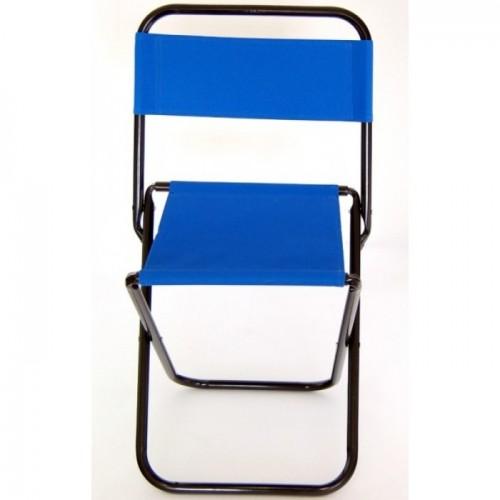 Сгъваемо столче от метал и текстил