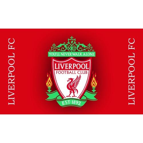 Знаме на Ливърпул 90/150 см.