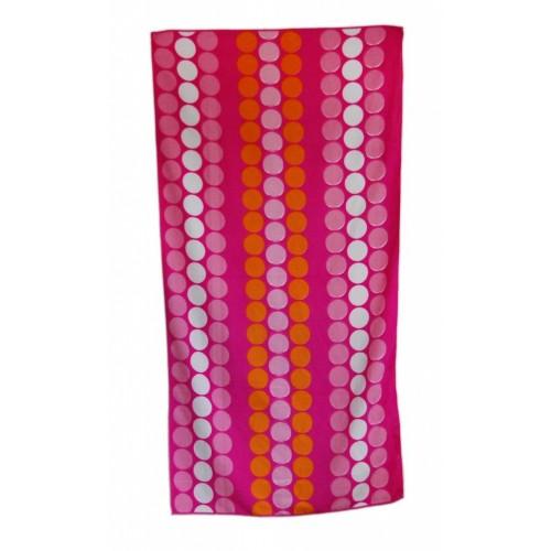Плажна кърпа с елипси- 100% памук