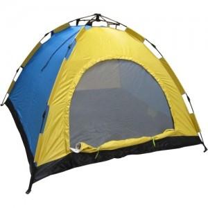 Автоматична палатка за четирима души - еднослойна