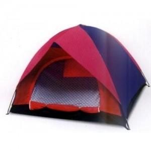 Палатка с покривало за трима човека - двуслойна