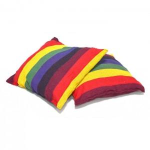 Шарена люлка - хамак с възглавнички