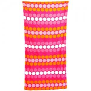 Плажна кърпа на цветни точки