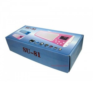 Джобно радио с USB, четец за карти и акумулаторна батерия