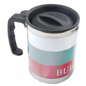 Чаша - термос с българското знаме
