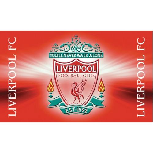 Знаме на Ливърпул 90/145 см.