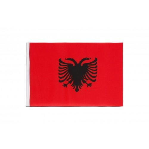 Знаме на Албания 20/30 см.