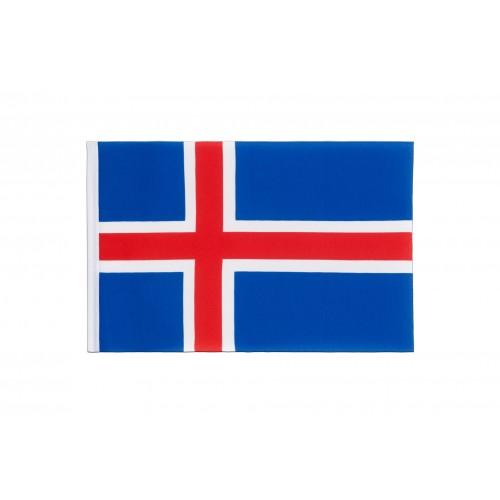 Знаме на Исландия 20/30 см.