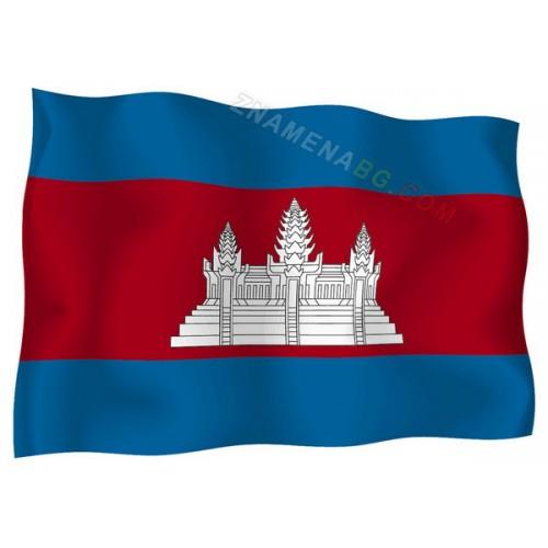 Знаме на Камбоджа 90/150 см.