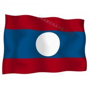 Знаме на Лаос 90/150 см.