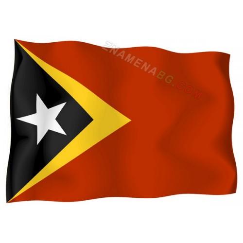 Знаме на Източен Тимор 90/150 см.