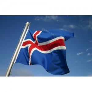 Знаме на Исландия 90/150 см.