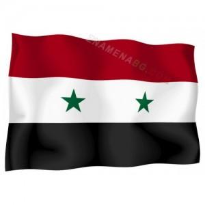 Знаме на Сирия 90/150 см.