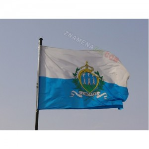 Знаме на Сан Марино 90/150 см.