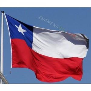 Знаме на Чили 90/150 см.