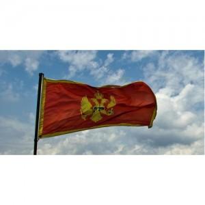 Знаме на Черна гора 90/150 см.