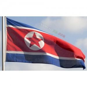 Знаме на Северна Корея 90/150 см.
