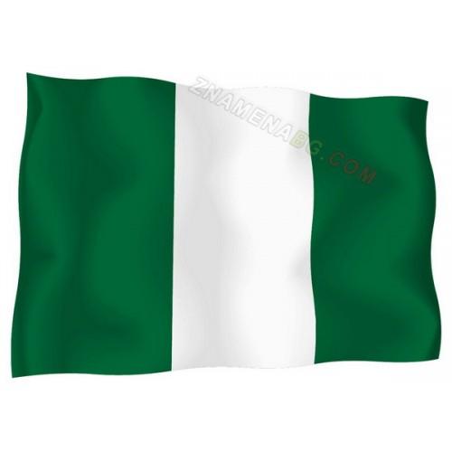 Знаме на Нигерия 90/150 см.