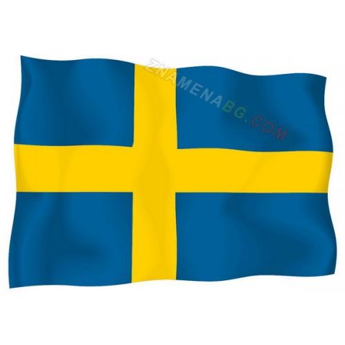 Знаме на Швеция 90/150 см.