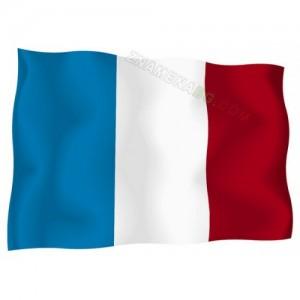 Знаме на Франция 90/150 см.