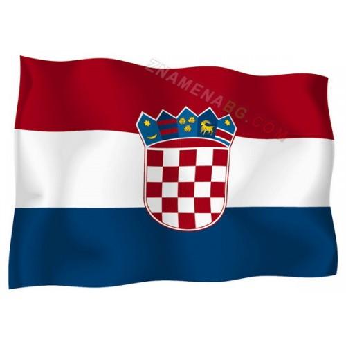 Знаме на Хърватска 90/150 см.