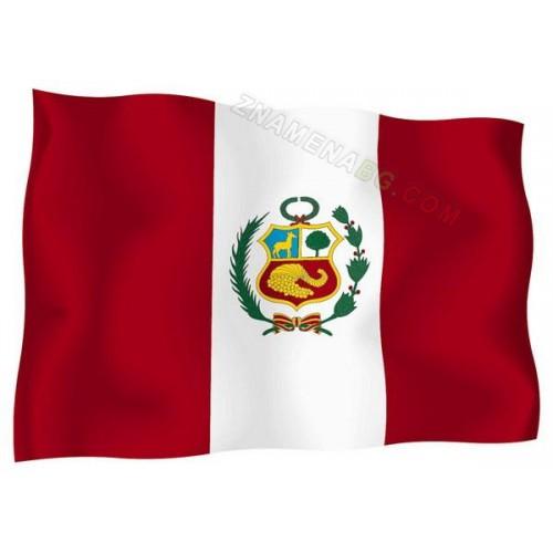 Знаме на Перу 90/150 см.