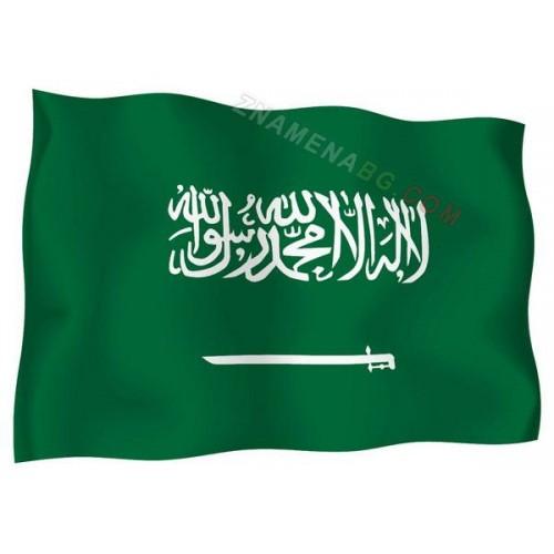 Знаме на Саудитска арабия 90/150 см.