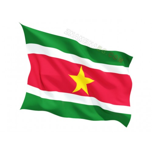 Знаме на Суринам  90/150 см.