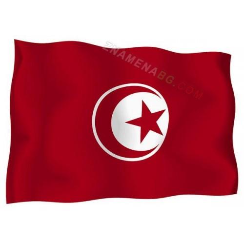 Знаме на Тунис 90/150 см.
