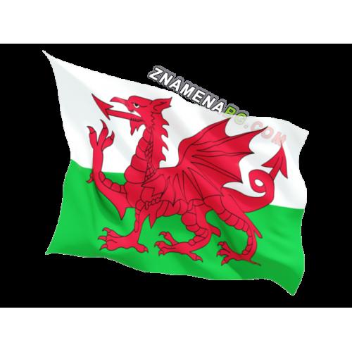 Знаме на Уелс 90/150 см.