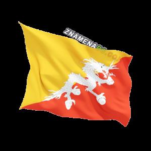 Знаме на Бутан 90/150 см.