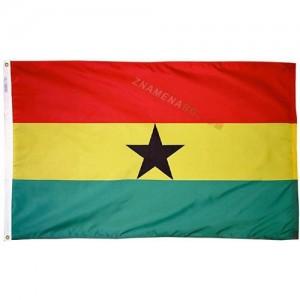 Знаме на Гана 90/150 см.