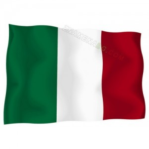 Знаме на Италия 90/150 см.