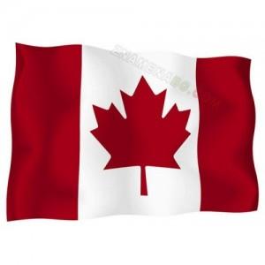 Знаме на Канада 90/150 см.