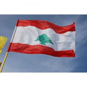 Знаме на Ливан 90/150 см.