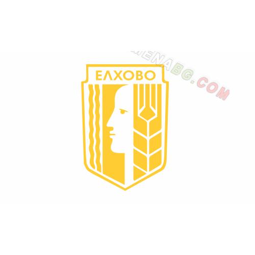 Знаме на Община Елхово - само с герб  90/150 см.