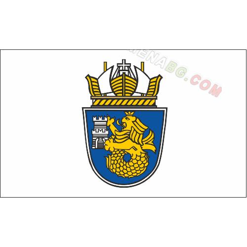 Знаме на Община Бургас 90/150 см.