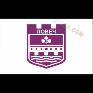Знаме на Община Ловеч 90/150 см.