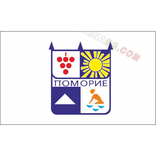 Знаме на Община Поморие 90/150 см.